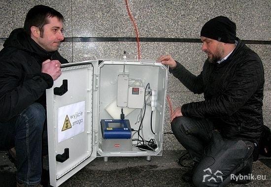 Wypożyczony z Krakowa pyłomierz przez najbliższe dwa tygodnie będzie dokonywał pomiarów na terenie Rybnika