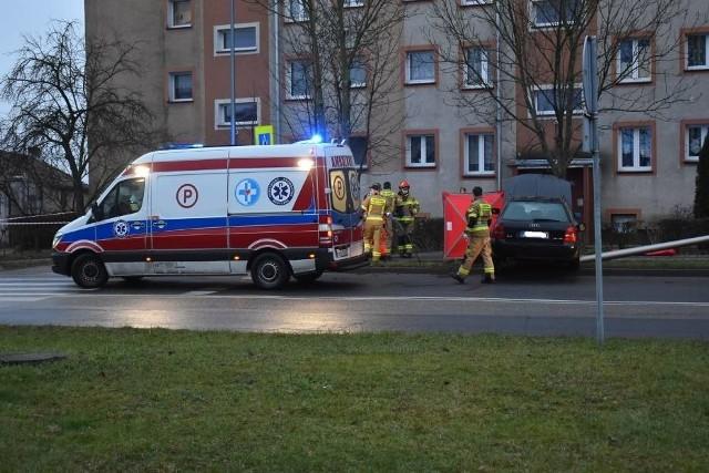 Na początku roku w Krośnie Odrzańskim doszło do śmiertelnego wypadku.