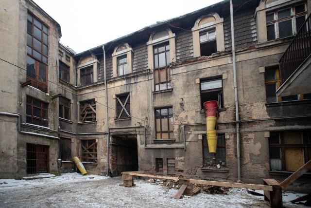 Remont kamienicy przy Legionów 20A będzie kosztował 19,3 mln zł. Znajdzie się tu m.in. 40 mieszkań komunalnych.