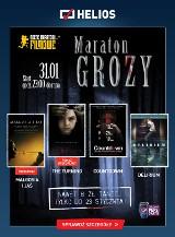 """Maraton Grozy w bydgoskim """"Heliosie"""". Odważ się i przyjdź 31 stycznia!"""