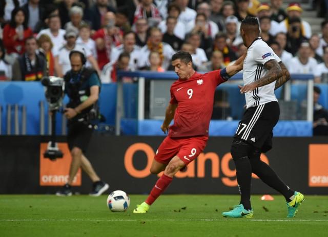 Robert Lewandowski Niemcom gola nie strzelił, ale Polacy zagrali znakomity mecz