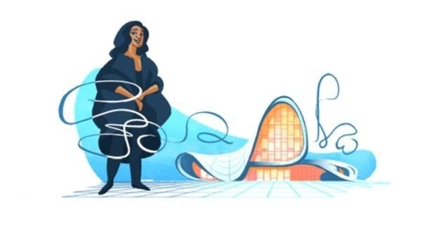 Zaha Hadid 31 maja została upamiętniona przez GOOGLE DOODLE. Czym zasłynęła Zaha Mohammad Hadid, brytyjska architekt pochodząca z Iraku?