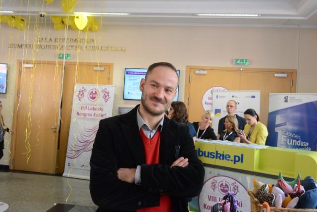 Radosław Brodzik, działacz społeczny  z Zielonej Góry