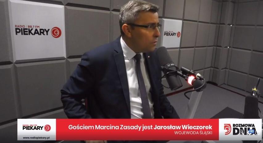 Jarosław Wieczorek, wojewoda śląski, był porannym gościem...