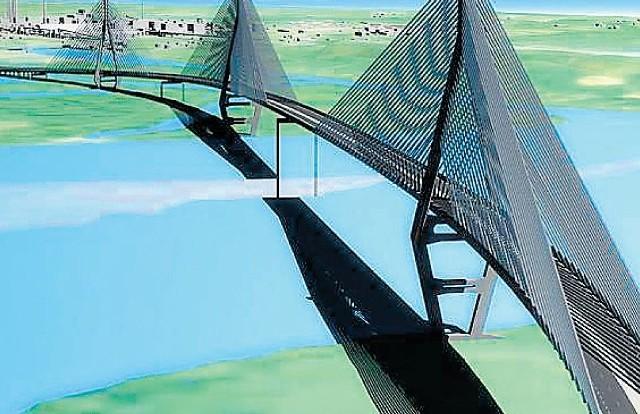 Pierwotnie rozważano budowę mostu z Polic do Świętej. Ostatecznie ma to być tunel pod Odrą.