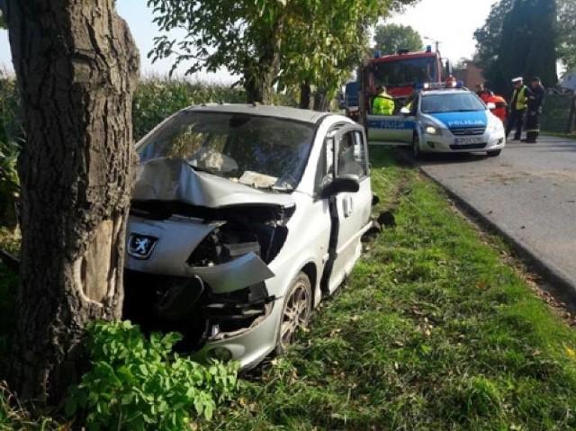 Wypadek w Czajkowie: Sprawca jechał na swój ślub
