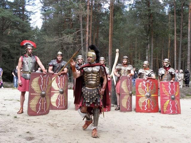 Rzymskie wojska w Kamiennych Kręgach.
