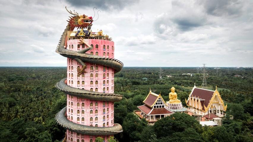 Najdziwniejsze budynki świata. Wyglądają niewiarygodnie? Fantazja architektów nie zna granic