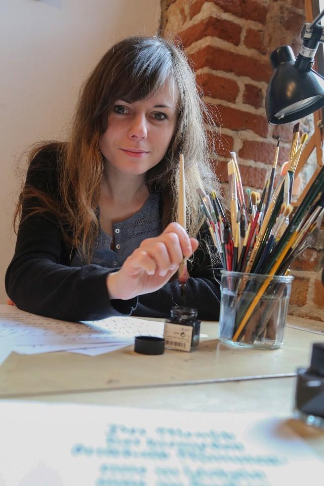 Ewa Landowska: By uprawiać kaligrafię, trzeba być upartym
