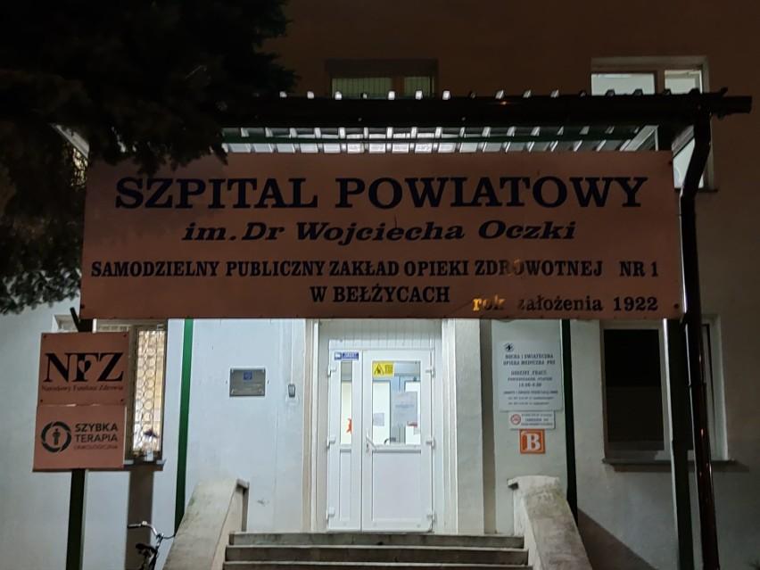 Szpital w Bełżycach koło Lublina. U pacjenta z tej placówki wykryto koronawirusa