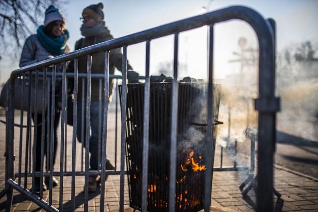 Koksowniki pojawią się na ulicach Torunia, gdy w dzień temperatura spadnie do minus 10 stopni Celsjusza
