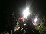 Nocna akcja ratunkowa na Zalewie Zemborzyckim. Z wody wyłowiono wędkarza