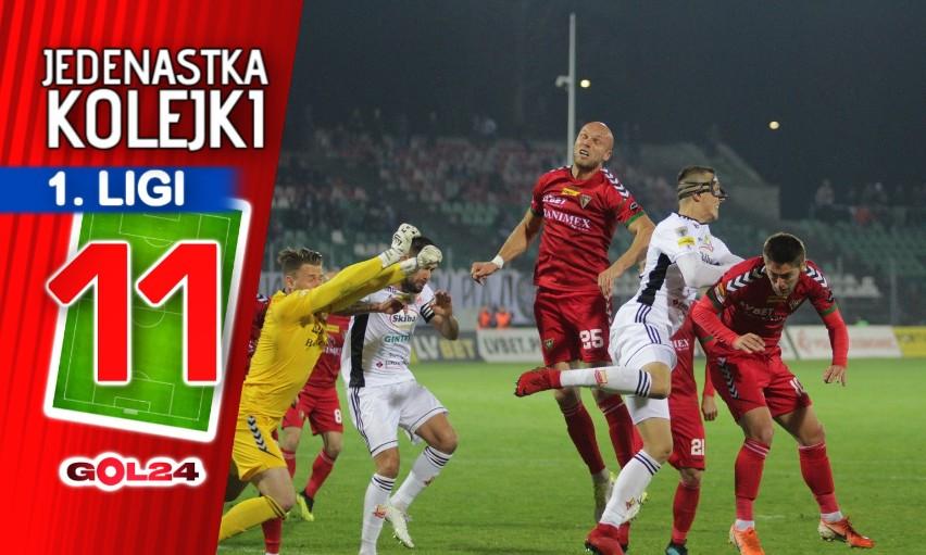 Chrobry złapał formę. Jedenastka 15. kolejki Fortuna 1 Ligi według GOL24.pl!