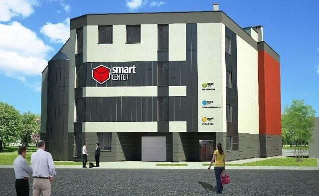 Tak będzie wyglądało Smart Center przy ulicy Batalionów Chłopskich