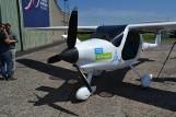 Pruszcz Gdański: Pokaz pierwszego seryjnie produkowanego samolotu elektrycznego [ZDJĘCIA, WIDEO]