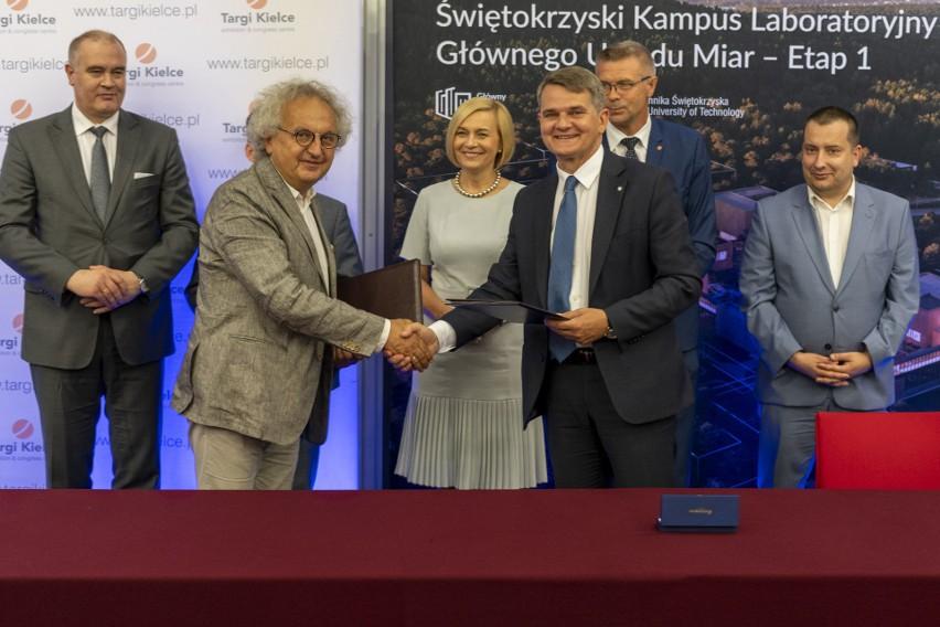 Targi Kielce oraz Główny Urząd Miar podpisały umowę o współpracy. Przez ośrodek expo GUM chce komunikować się z otoczeniem gospodarczym