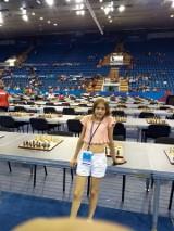 Klara Szczotka znów z medalem. 11-letnia białostoczanka zdobyła wicemistrzostwo świata w szachach błyskawicznych