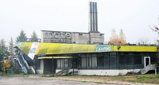 Popadający w ruinę motel Krak ma zostać wyburzony do końca marca