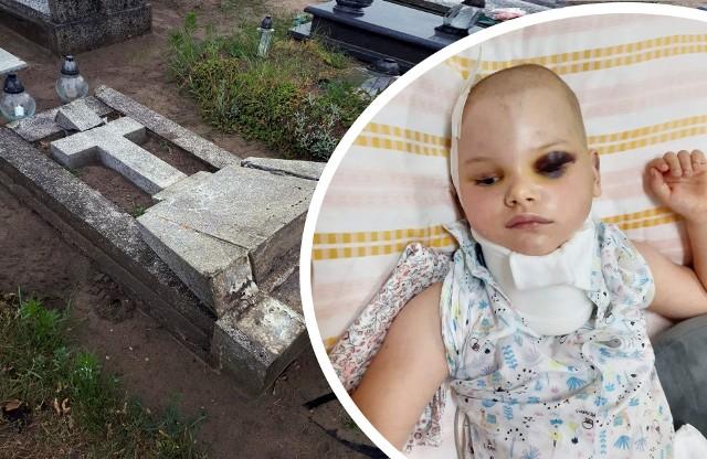Na grobie syna, rodzina walczyła o życie własnej córki. Teraz 5-latka wymaga intensywnej rehabilitacji.