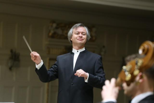 Pierwszą częścią Koncertu Poznańskiego dyrygował Maciej Żółtowski