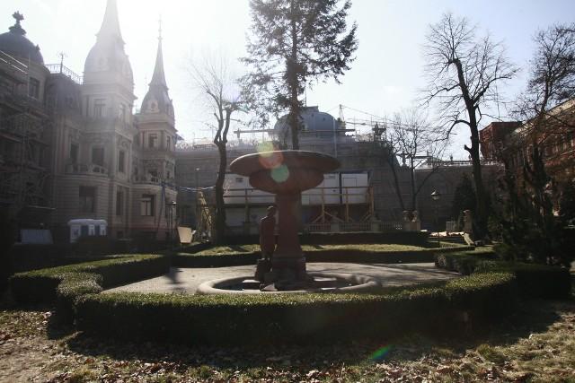 Remont ogrodu pałacu Poznańskiego