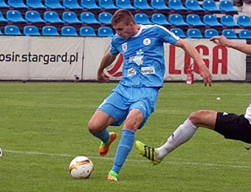 Mateusz Węsierski grał ostatnio w Błekitnych Stargard Szczeciński