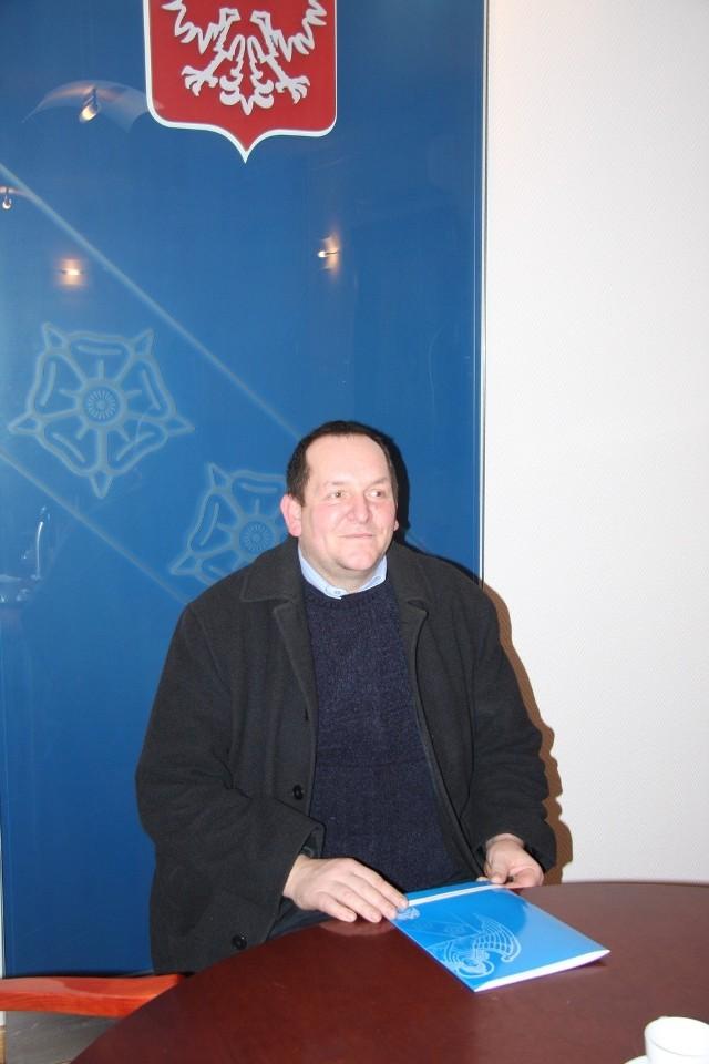 Piotr Michalski – sołtys wsi Białęgi, gmina Murowana Goślina, powiat poznański