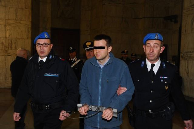 Prokuratura we Włoszech żąda dla Łukasza H. kary 25 lat więzienia