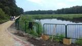 Cztery pomosty zostaną zacumowane na stawach na Marysinku w Justynowie