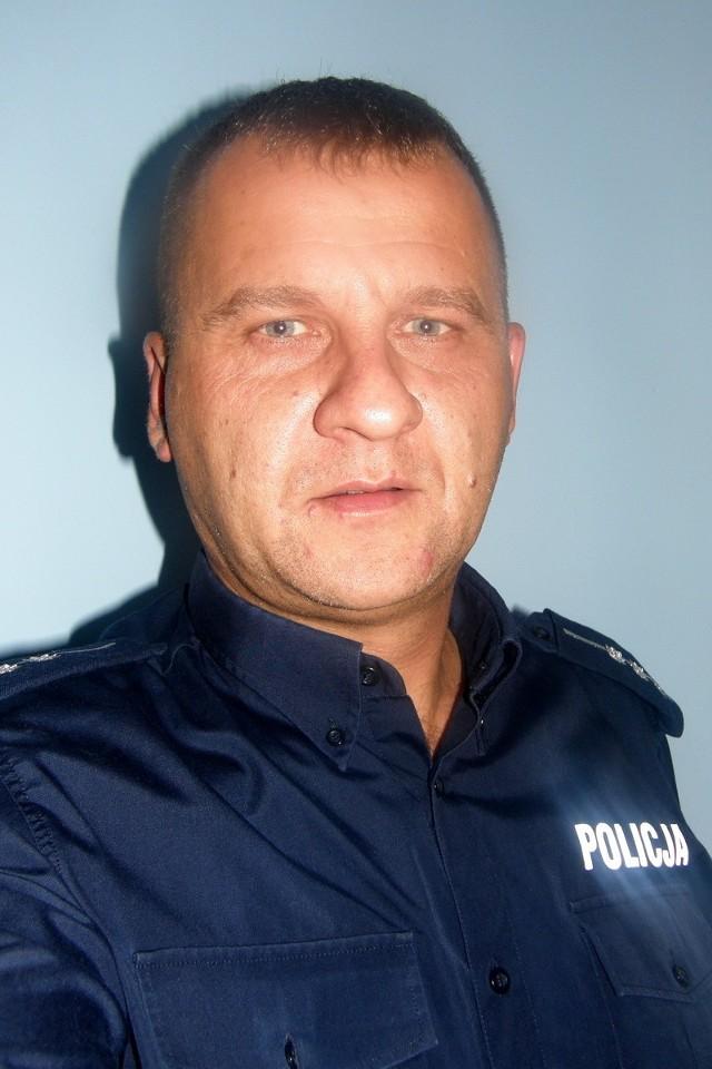 Aby zagłosować na st. asp. Grzegorza Herkta wyślij SMS o treści POLICJANT.26 na numer 7155 (koszt 1.23 zł z VAT)