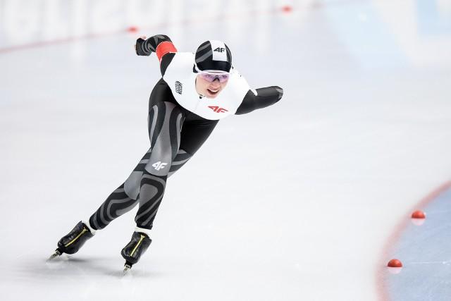 Karolina Bosiek wygrała w niedzielę rywalizację w grupie B na 1500 metrów