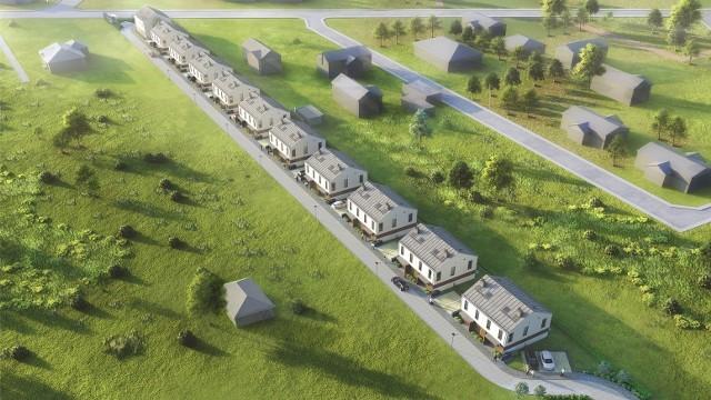 W Choroszczy powstaje osiedle Polskich Domów Drewnianych