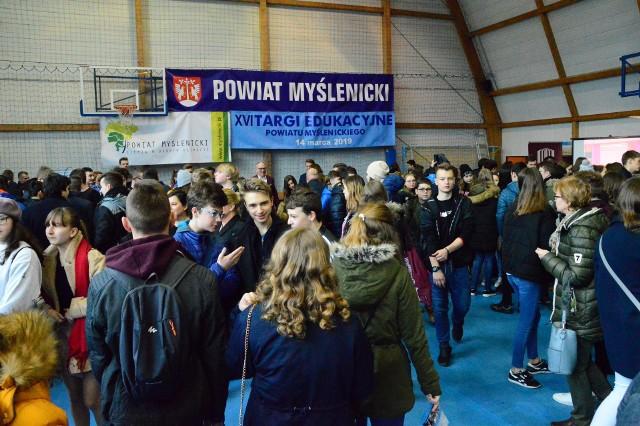 Podczas tegorocznych Targów Edukacyjnych Powiatu Myślenickiego