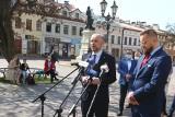 Konrad Fijołek i Paweł Tanajno spotkali się w Rzeszowie. Zapowiadają współpracę i pomoc dla biznesu