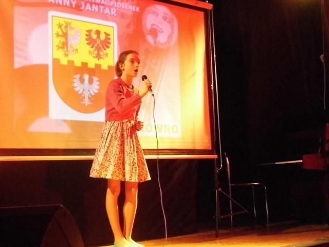 Natalia Machelska na festiwalu w Głownie.