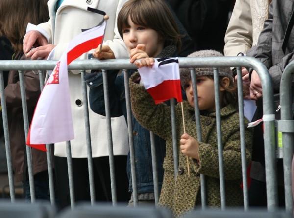 Kraków na dzien przed pogrzebem pary prezydenckiejKraków na dzien przed pogrzebem pary prezydenckiej.
