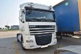 Terespol. Ciężarówka DAF z przerobionym numerem VIN zatrzymana na granicy. Rosjanin próbował wyjechać nią z Polski