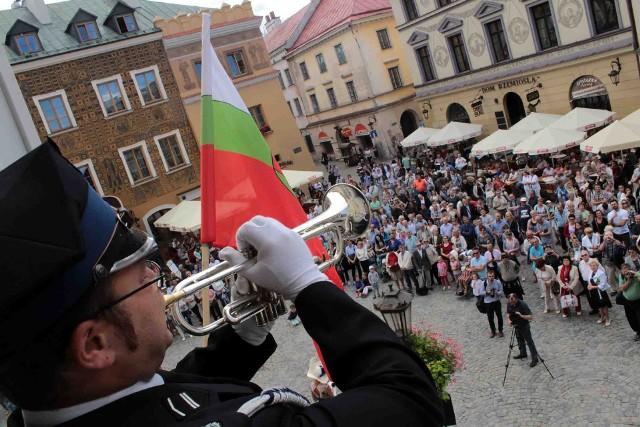 Pierwszy Ogólnopolski Przegląd Hejnałów Miejskich w Lublinie odbył się ćwierć wieku temu