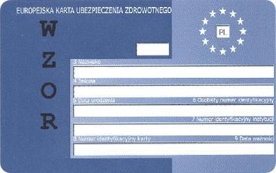 Aby móc skorzystać z opieki medycznej za granicą, powi-nieneś przed wyjazdem zaopatrzyć się w Europejską Kartę Ubezpieczenia Zdrowotnego (EKUZ). Otrzymasz ją w Oddziale Narodowego Funduszu Zdrowia.