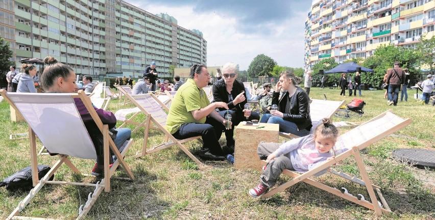 Piknik między gdańskimi falowcami, czyli zupełnie odmienne...