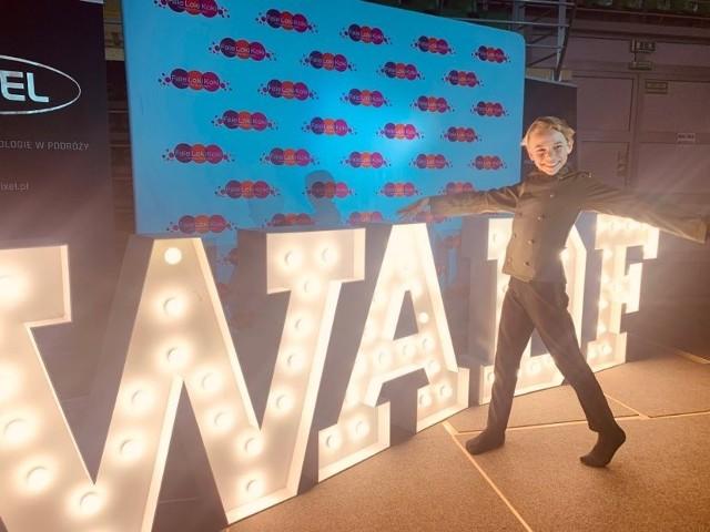 Natan Grzybowski sięgnął po tytuł w kategorii Solo Jazz Dance Improvisation Junior