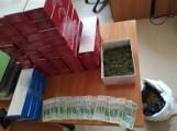 Łodzianin trzymał lewy towar... u babci - marihuanę i nielegalny tytoń