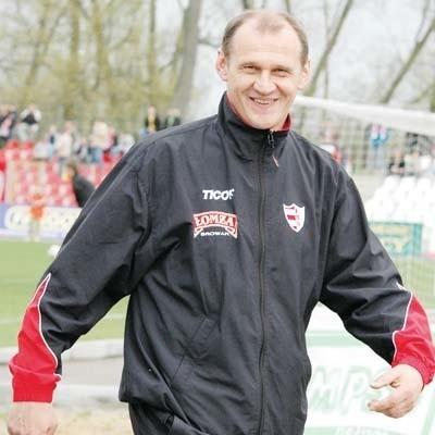 Trener Czesław Jakołcewicz jest pełen wiary w łomżyńskich działaczy i radnych miasta