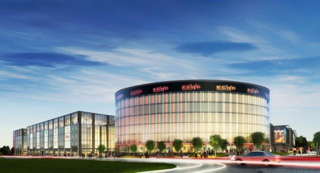 100 milionów euro pożyczone od banku Eurohypo zostanie w Kielcach w posatci inwestycji w Galerię Echo
