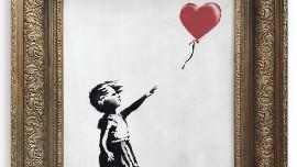 Dziewczynka Z Balonikiem Autorstwa Artysty O Pseudonimie