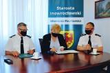Powiat inowrocławski. Strażacy otrzymają nowy wóz bojowy. Zakup wesprze inowrocławskie starostwo. Zdjęcia