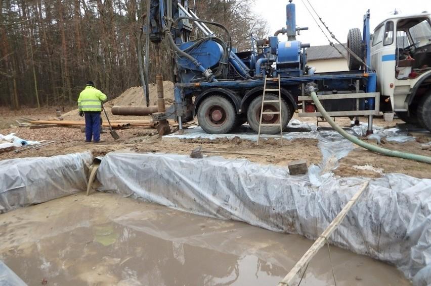 W Czyżeminku rozpoczęło się wiercenie nowego ujęcia wody