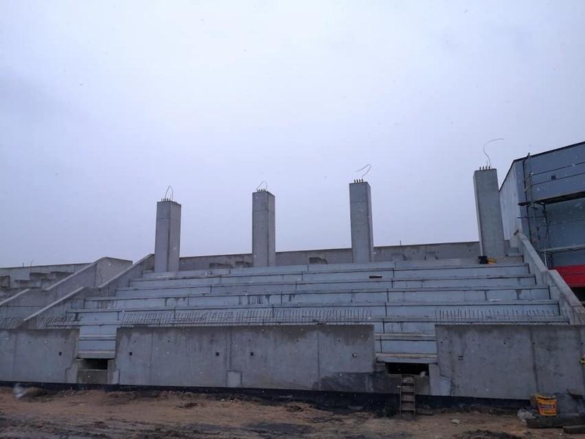 Budowa stadionu w Szczuczynie