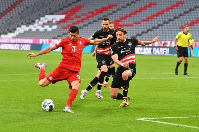 Bayern - Eintracht w Eurosporcie 1 z komentarzem Borka