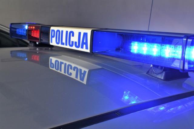 Mężczyzna został zatrzymany przy ul. Małkińskiej